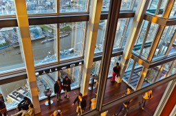 London, England: Inside The Shard