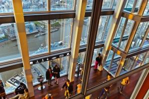 London, England: Inside The Shard