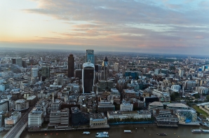 London, England: View from The Shard