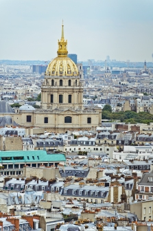 Paris, France: View from the Eiffel Tower