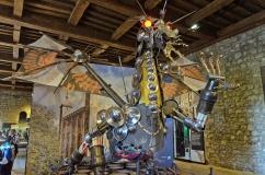 Freaky Dragon Sculpture