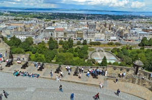 Edinburgh, Scotland: View from Edinburgh Castle