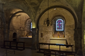 Canterbury, England: Canterbury Cathedral Crypt