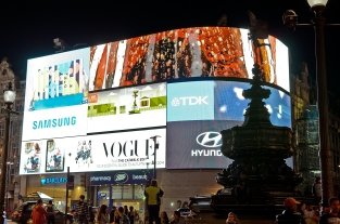 London, England: Picadilly Circus