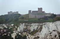 View from the Ferry: Dover Castle