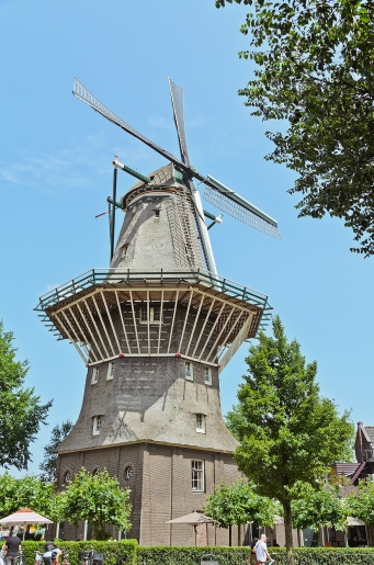 Amsterdam, The Netherlands: 16th Century Windmill