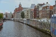 Amsterdam, The Netherlands: Flower Market