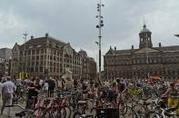 Amsterdam, The Netherlands: Bikes, bikes, bikes.