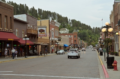 Deadwood, South Dakota - August, 2017