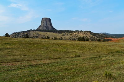 Devils Tower, Wyoming - September, 2017