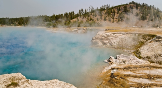 Excelsior Geyser Crater - Yellowstone National Park - August, 2017