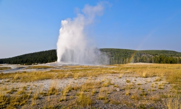 Old Faithful - Yellowstone National Park - August, 2017
