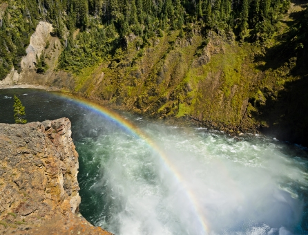 Brink of the Upper Falls - Yellowstone National Park - August, 2017