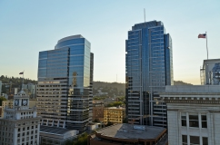 View from the top of Departure restaurant. Portland, Oregon - Au
