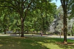 Portland State University. Portland, Oregon - August, 2017