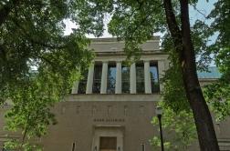 Former masonic temple now part of art museum. Portland, Oregon -