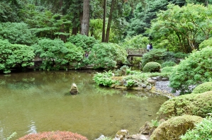 Japanese Garden. Portland, Oregon - August, 2017