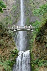 Multnomah Falls, Oregon - August, 2017