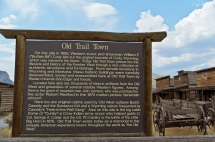 Old Trail Town, Cody, Wyoming - August, 2017