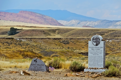 Grave of Buffalo Bill's grandson.