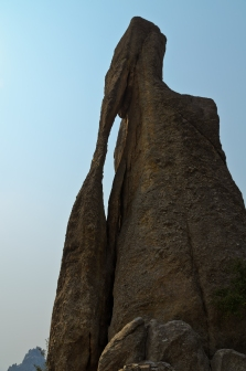 Needles Eye Rock