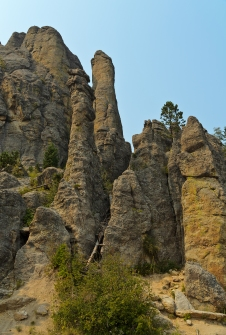 Needles Highway, South Dakota - September, 2017
