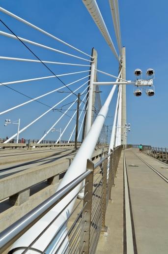 Pedestrian bridge.