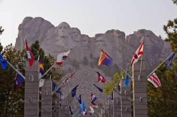 Mount Rushmore, South Dakota - September, 2017