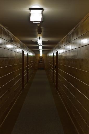 One more dark corridor.