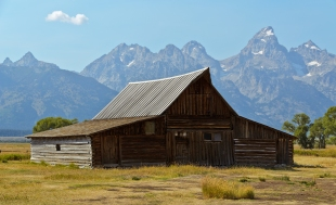 Mormon Row: T.A. Moulton Barn