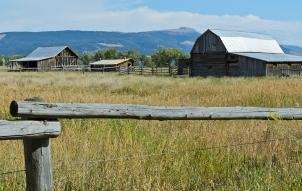 Mormon Row: Andy Chambers Homestead