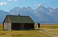 Mormon Row: John Moulton Homestead