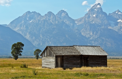 Mormon Row: Clark & Veda Moulton Homestead