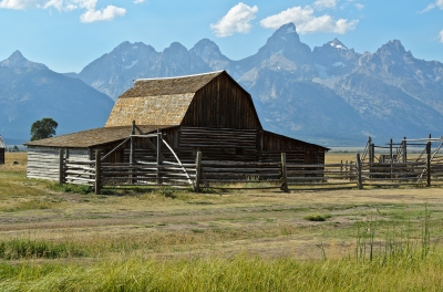 Mormon Row: John Moulton Barn