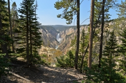 Grand Canyon of the Yellowstone: View from Artist Point