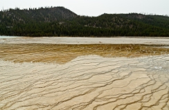 Yellowstone National Park: Midway Geyser Basin - August, 2017