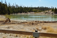 Mud Volcano Area, Yellowstone National Park - August, 2017