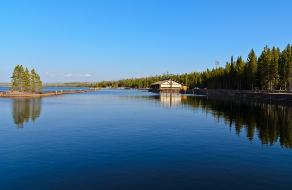 Yellowstone Lake: West Thumb