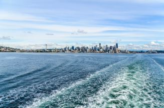 View from Bainbridge Island Ferry