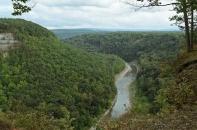 The Great Bend Overlook area.