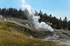 Norris Geyser Basin, Yellowstone National Park - August, 2017