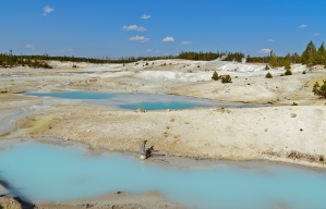 Norris Geyser Basin, Yellowstone National Park - August, 2017