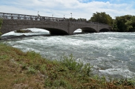 Niagara Falls, New York: Niagara River Rapids