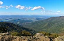 Skyline Drive: Hawksbill Summit Trail