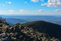 Skyline Drive: Hawksbill Summit Trail