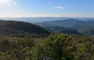Skyline Drive: Bearfence Viewpoint Trail