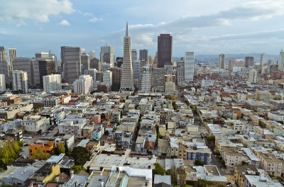 San Francisco: View from Coit Tower
