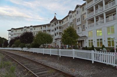 Watkins Glen, New York: Our hotel.