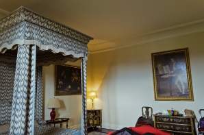 Kent, England: Leeds Castle - Our Room (Turret Room)