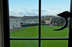 Kent, England: Leeds Castle - View from our room.